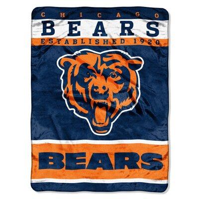 NFL Bears 12th Man Raschel Throw
