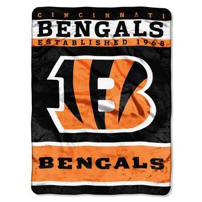 NFL Bengals 12th Man Raschel Throw