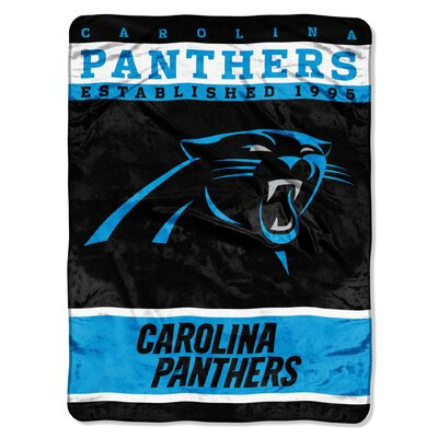 NFL Panthers 12th Man Raschel Throw