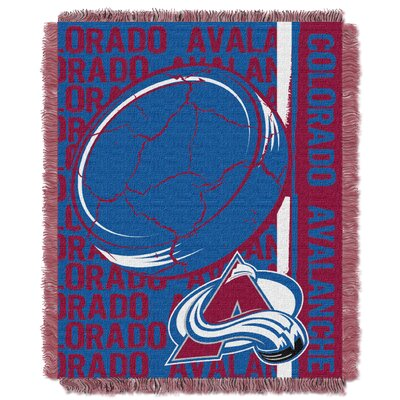 NHL Avalanche Double Play Woven Throw