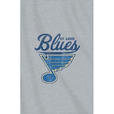 NHL Blues Throw