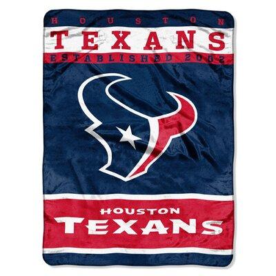 NFL Texans 12th Man Raschel Throw