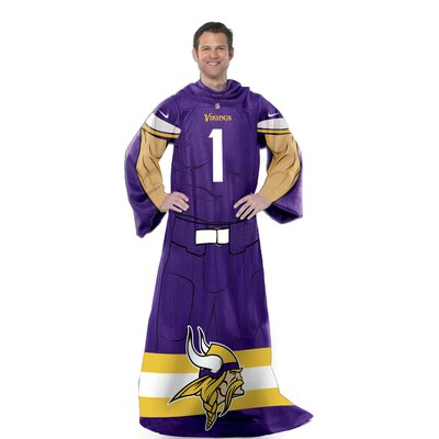NFL Vikings Uniform Comfy Throw