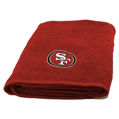 NFL 49ers Appliqu� Beach Towel