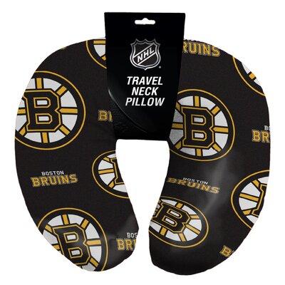 NHL Bruins Beaded Neck Pillow