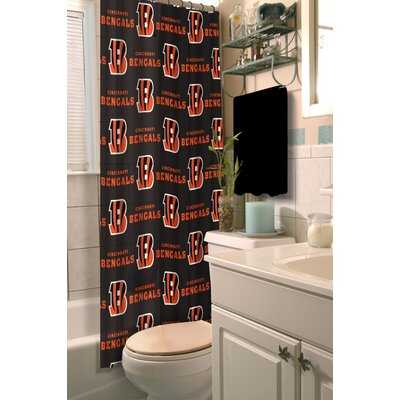 NFL Shower Curtain NFL Team: Bengals
