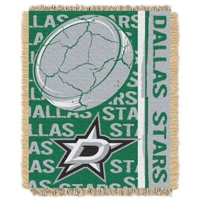 NHL Stars Double Play Woven Throw