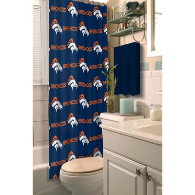 NFL Shower Curtain NFL Team: Broncos