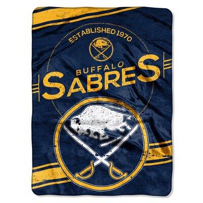 NHL Sabres Stamp Raschel Throw