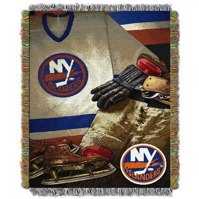 NHL Islanders Vintage Throw Blanket