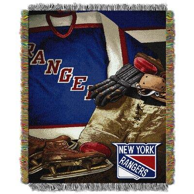 NHL Rangers Vintage Throw Blanket