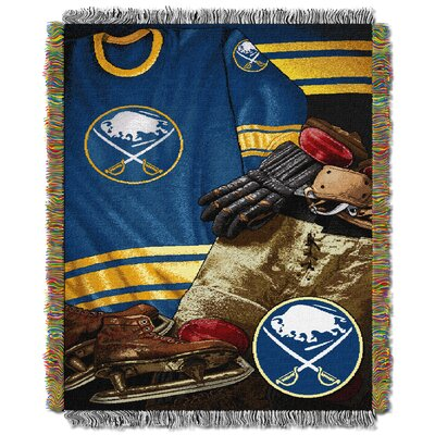 NHL Sabres Vintage Throw Blanket