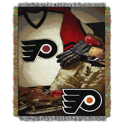 NHL Flyers Vintage Throw Blanket