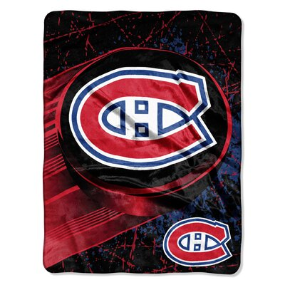 NHL Canadiens Ice Dash Throw