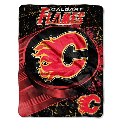 NHL Flames Ice Dash Throw
