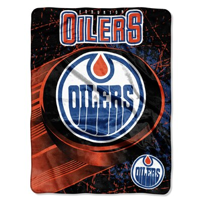 NHL Oilers Ice Dash Throw