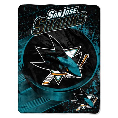 NHL Sharks Ice Dash Throw