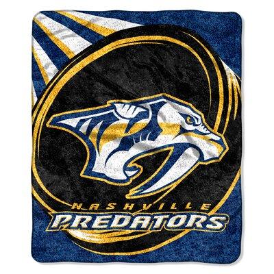 NHL Predators Sherpa Puck Throw