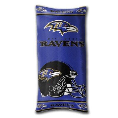 NFL Folding Body Pillow NFL Team: Baltimore Ravens