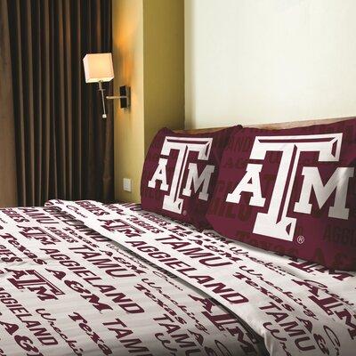 Collegiate Anthem Texas A&M Sheet Set Size: Full
