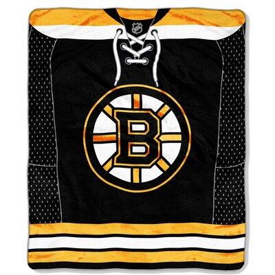 NHL Jersey Throw NHL Team: Boston Bruins