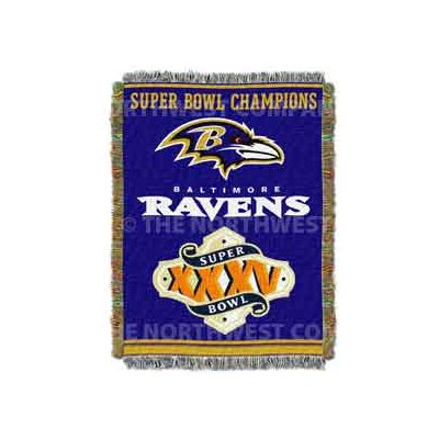 NFL Baltimore Ravens Commemorative Tapestry Throw