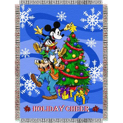 Entertainment Mickey Mouse Spread Cheer Throw