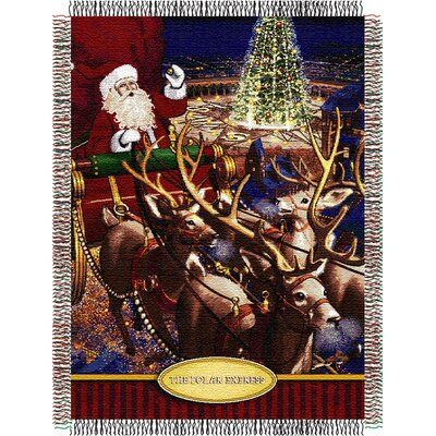 Polar Express- Santa Flight Throw