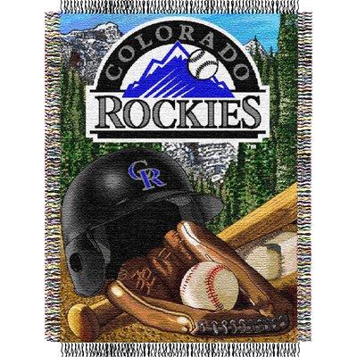 Northwest Co. MLB Colorado Rockies Tapestry Throw