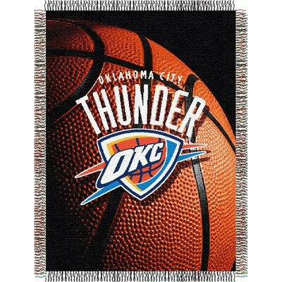 NBA Oklahoma City Thunder Tapestry Throw