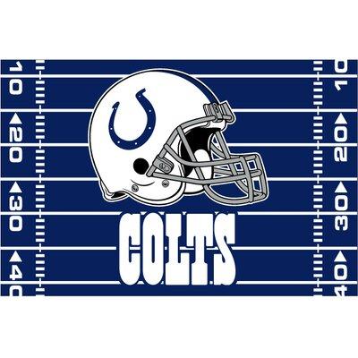 NFL Colts Blue Area Rug