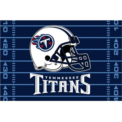 Titans Blue Area Rug