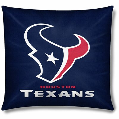 NFL Houston Texans Throw Pillow