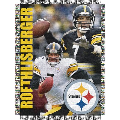 NFL Ben Roethlisberger Player Throw Blanket