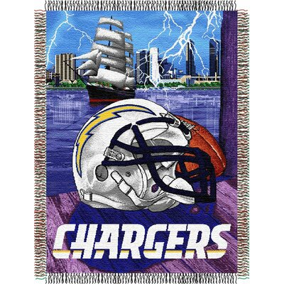NFL San Diego Chargers Tapestry Throw