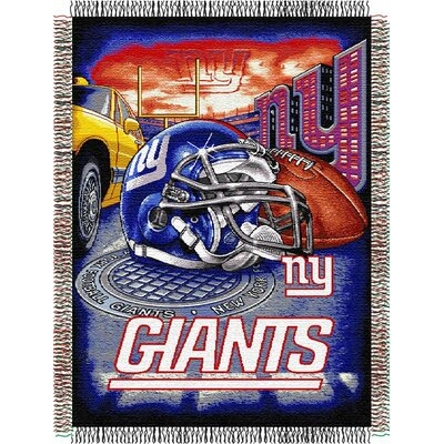 NFL New York Giants Tapestry Throw