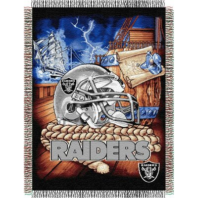 NFL Oakland Raiders Tapestry Throw