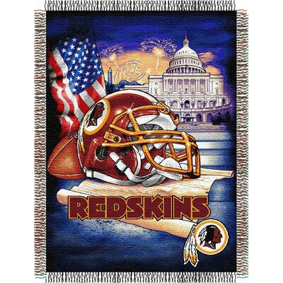 NFL Washington Redskins Tapestry Throw