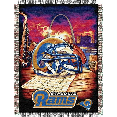 NFL St. Louis Rams Tapestry Throw