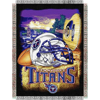 NFL Tennessee Titans Tapestry Throw