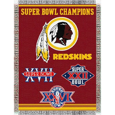 NFL Washington Redskins Commemorative Tapestry Throw
