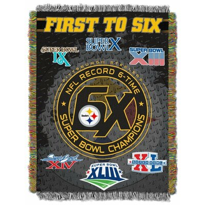 NFL Pittsburgh Steelers Commemorative Tapestry Throw