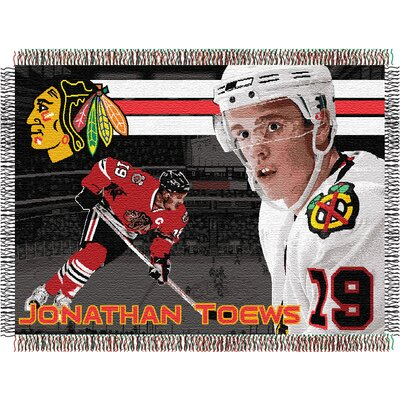 NHL Players Tapestry Throw Blanket NHL Player: Jonathan Toews