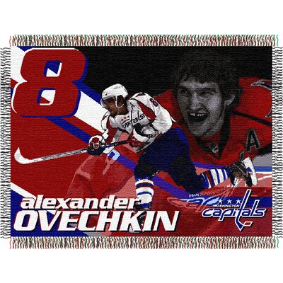 NHL Players Tapestry Throw Blanket NHL Player: Alexander Ovechkin
