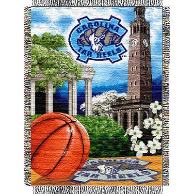 NCAA North Carolina Tapestry Throw