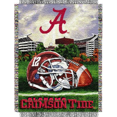 NCAA Alabama Tapestry Throw