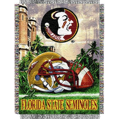 College NCAA Florida State Tapestry Throw