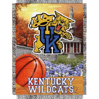 NCAA Kentucky Tapestry Throw