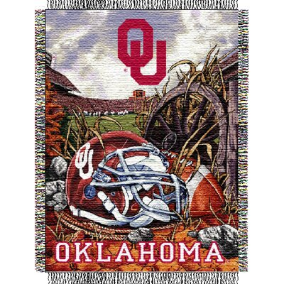 NCAA Oklahoma Tapestry Throw