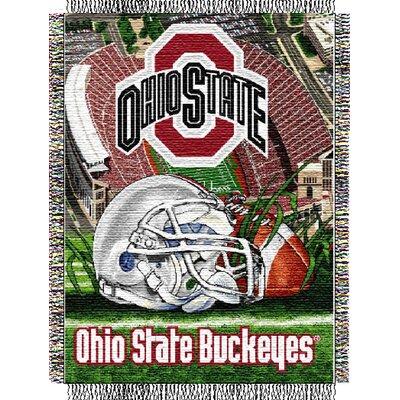 NCAA Ohio State Tapestry Throw